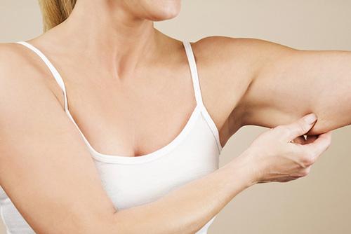 Как убрать дряблость кожи на руках